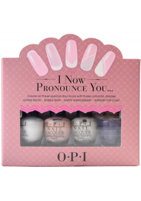 I Now Pronounce You Mini Set (OPI Nail Polish)