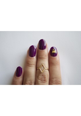 Swan No. 2 (Hex Nail Jewelry)