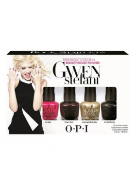 Gwen Stefani Rock Starlets Mini Set (OPI Nail Polish)