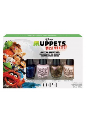 Muppets Most Wanted Mini Pack (OPI Nail Polish)