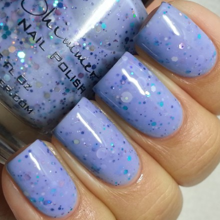 Periwinkle In Time (KBShimmer Nail Polish)