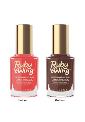 Saloon Sweetheart (Ruby Wing Color Changing Nail Polish)