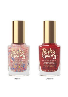 Dolled Up (Ruby Wing Color Changing Nail Polish)