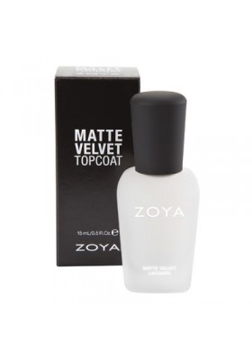 Matte Velvet Top Coat (Zoya Nail Polish)