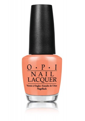 Is Mai Tai Crooked? (OPI Nail Polish)