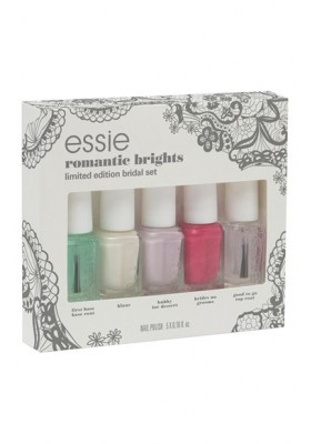 Limited Edition: Romantic Brights Wedding 2015 Collection Mini Set (Essie Nail Polish)