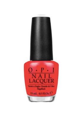 I Stop for Red (OPI Nail Polish)