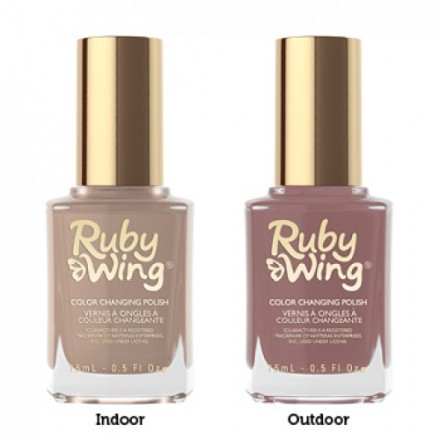 After Sunset (Ruby Wing Color Changing Nail Polish)
