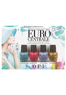 Euro Centrale Collection Mini Set (OPI Nail Polish)