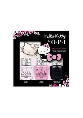 Hello Kitty Sparkle & Shine- Trio Pack (OPI Nail Polish)