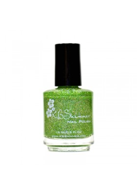 Smells Like Green Spirit (KBShimmer Nail Polish)