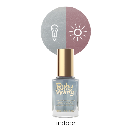 Chambray (Ruby Wing Color Changing Nail Polish)