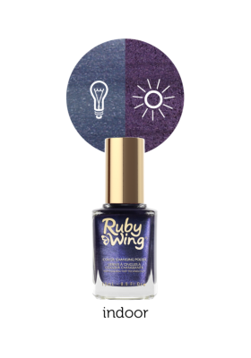 Low Rise (Ruby Wing Color Changing Nail Polish)