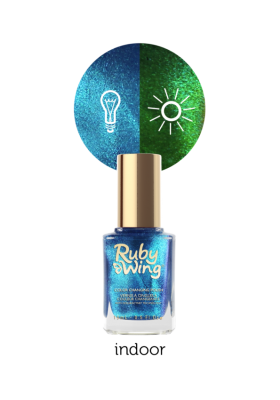 High Tide (Ruby Wing Color Changing Nail Polish)
