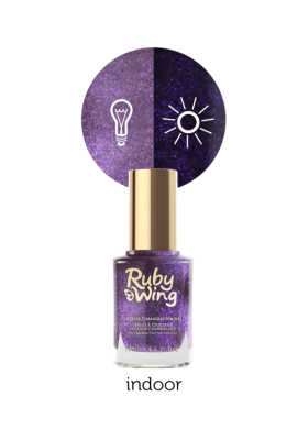 Naughtical by Nature (Ruby Wing Color Changing Nail Polish)