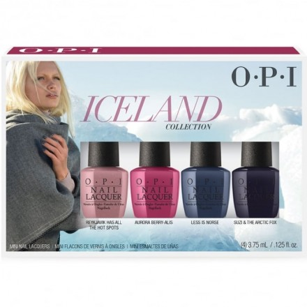 Iceland Collection Mini Set (OPI Nail Polish)