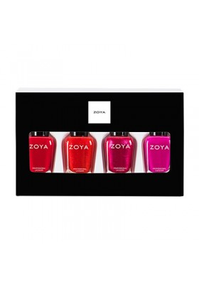 Spreading Cheer Quad Nail Polish & Lipstick Gift Set (Zoya Nail Polish)