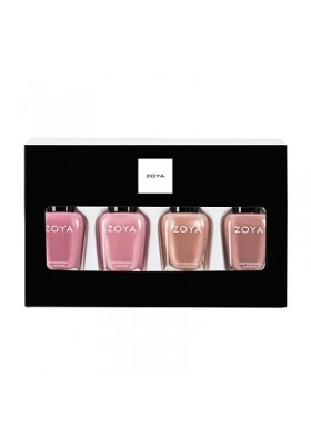 Under the Mistletoe Quad Nail Polish & Lipstick Gift Set (Zoya Nail Polish)