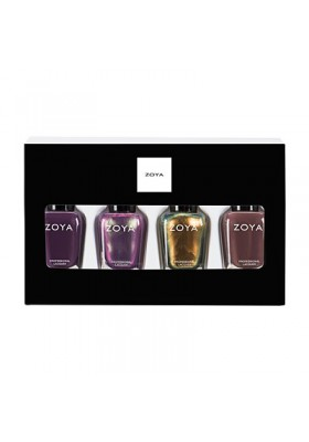 'Tis the Season Quad Nail Polish & Lipstick Gift Set (Zoya Nail Polish)
