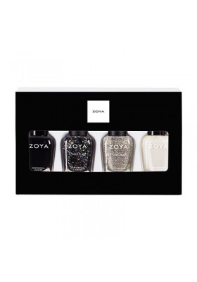 Winter Wishes Quad Nail Polish & Lipstick Gift Set (Zoya Nail Polish)