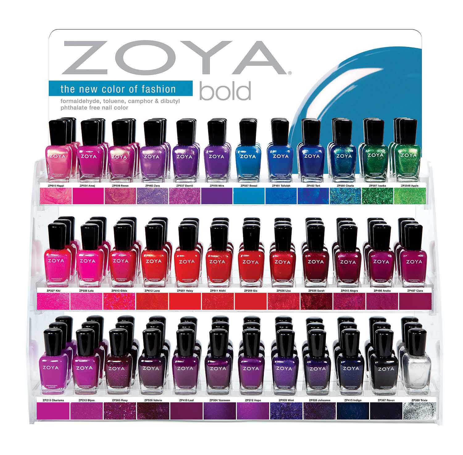 Zoya Display